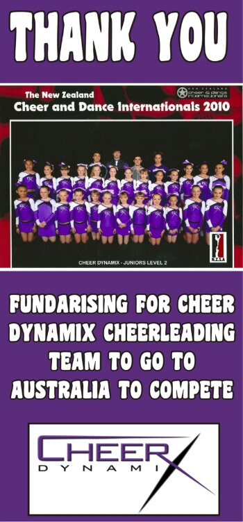 Cheerleading Fundraising