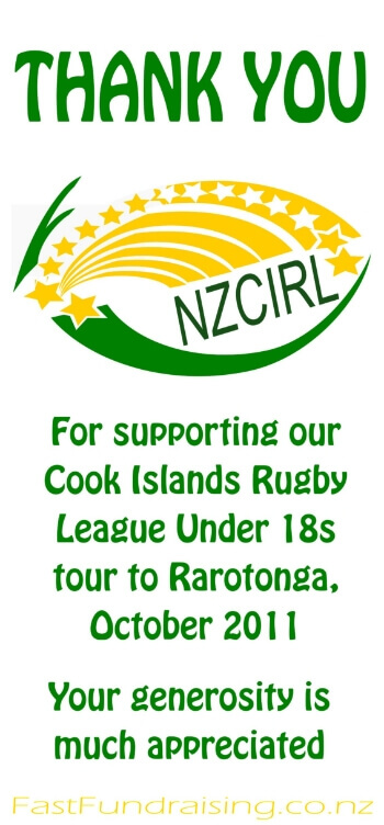 Cook Islands Fundraising